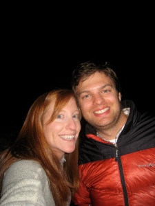 Stefan and Morgan in Telluride, New Years