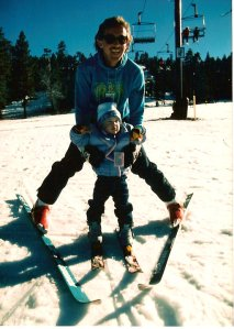 Skiing at Snow Summit 1985