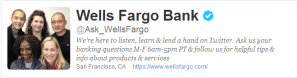 @ask_wellsfargo  on Twitter